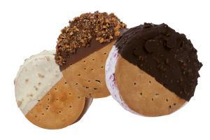 Biscotti gelato rotondi