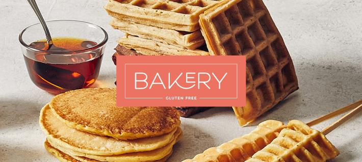 Bakery per passione: realizza anche tu pancakes, waffles e crêpes senza glutine.