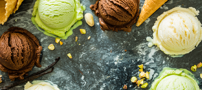 Il Giro del Mondo in 7 gusti gelato