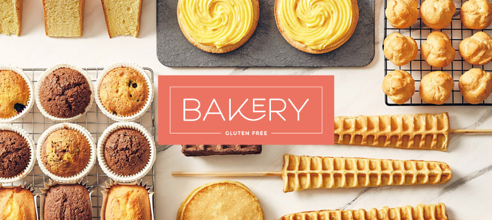 Bakery: a new line of gluten-free baked goods by Prodotti Stella