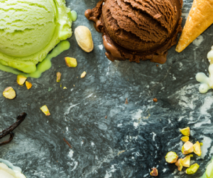 Around the World in 7 gelato flavours